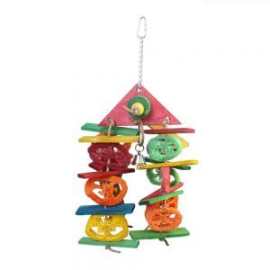 House Of Fun Loofah Bird Toy