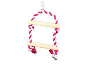 Two Step Rope Swing Ladder