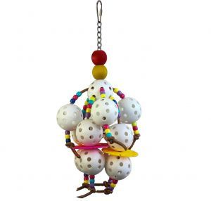 Wonderful Whiffles Small Bird Toy
