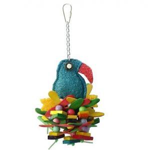 Lollipop Parrot Small Bird Toy