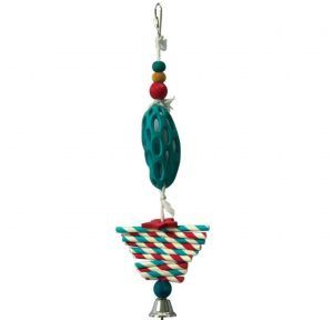 Hol ee Twist Forager Bird Toy
