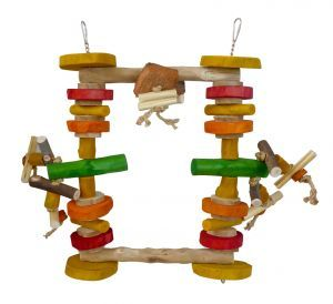 Munchy Swinger - Medium Parrot Swing