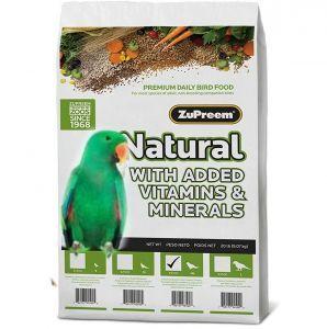 Zupreem Natural Medium/Large Bird Pellet 20lb