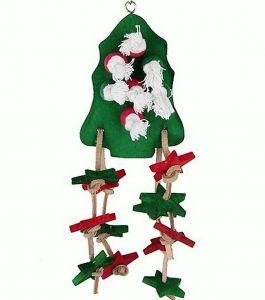 Birdie Christmas Tree Wood Toy