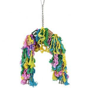 ABC Preener Rope Bird Toy