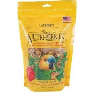 Lafeber NutriBerries Original Complete Parrot Food 284g