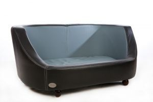 Chester & Wells Oxford I Medium Black Dog Bed