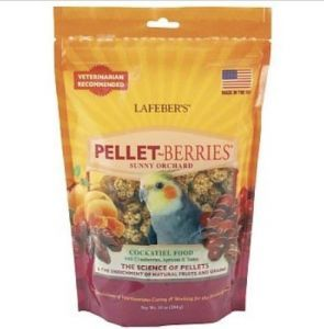 Pellet Berries Sunny Orchard Cockatiel 284g