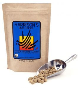 Harrison`s Pepper Lifetime Coarse- Organic Bird Food 2.26kg