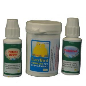Birdcare Feather Plucking Rescue Pack