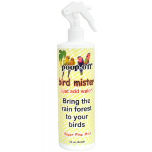 Poop-Off Super Fine Bird Misting Bottle- 16oz