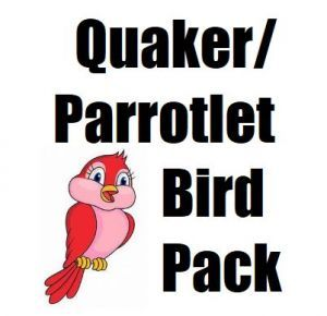 Quaker, Parrotlet, Kakariki Toy Pack