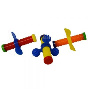 Wing Nut Puzzle Foot Toy - Pack 3