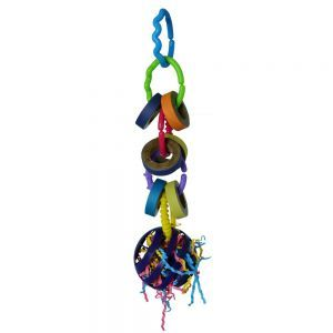 Fiesta Forage Ball Bird Toy