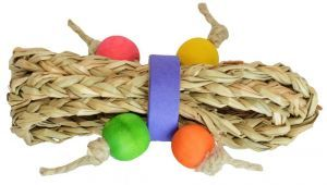 Mini Seagrass Tumble - Bird Foot Toy