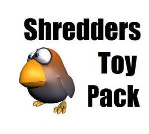Shredders Toy Pack