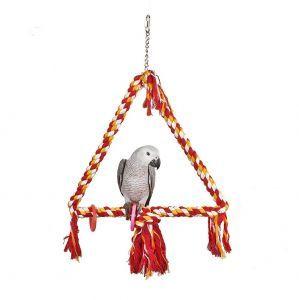 Large Bird Rope Triangle Swing