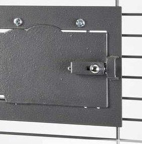 Cage Feeder Door Lock Smooth