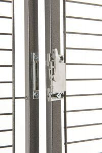 Cage Front Door Lock Squared