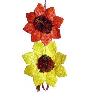 Medium Double Sunflower Shredding Bird Toy