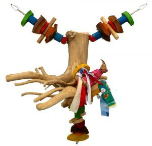 Java Swinging Root Bird Climbing Toy Large