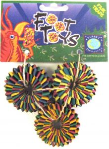 Tire Foot Toy Pack 3 - Small Bird