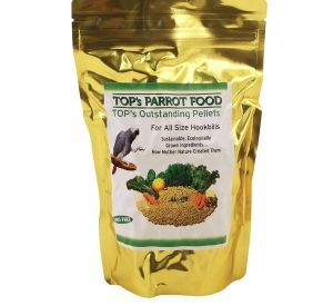 TOP`S Outstanding Pellets Natural Parrot Food - Large 4lb