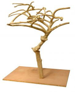 Deluxe Java Tree 0003 - Hardwood Bird Stand