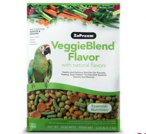 Zupreem VeggieBlend Bird Pellet Food 3.25lb