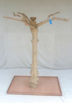 JAVA TREE - LARGE - NATURAL HARDWOOD PARROT PLAYSTAND BL60319