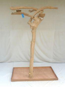 JAVA TREE - LARGE - NATURAL HARDWOOD PARROT PLAYSTAND BL60325