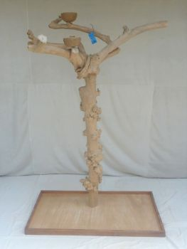 JAVA TREE - LARGE - NATURAL HARDWOOD PARROT PLAYSTAND BL60326