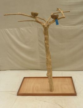 JAVA TREE - SMALL - NATURAL HARDWOOD PARROT PLAYSTAND BS40161