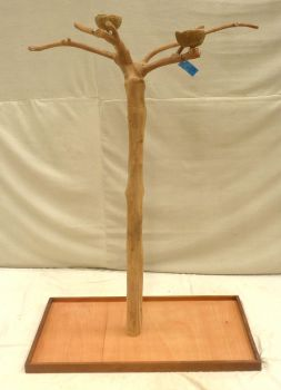 JAVA TREE - SMALL - NATURAL HARDWOOD PARROT PLAYSTAND BS40171