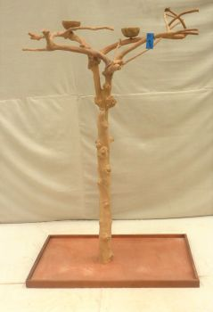 JAVA TREE - SMALL - NATURAL HARDWOOD PARROT PLAYSTAND BS40243