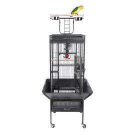 Liberta Eden Small Bird Cage With Play Top