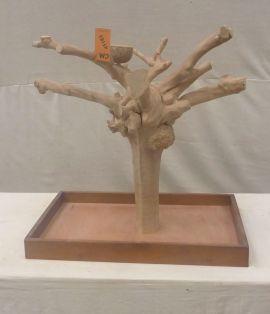 MINI JAVA TABLETOP TREE - MEDIUM - NATURAL HARDWOOD PARROT STAND M41183