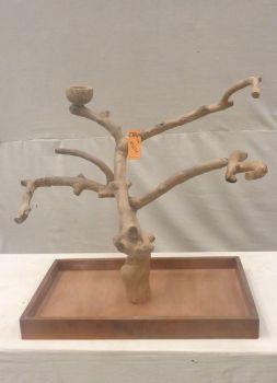 MINI JAVA TABLETOP TREE - MEDIUM - NATURAL HARDWOOD PARROT STAND M41211