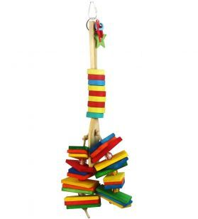 Silly Spoon Large Wooden Bird Toy