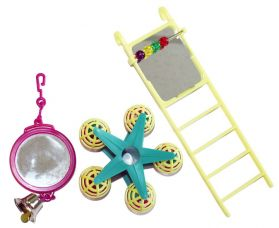 Funfair Triple Pack Extra Small Bird Toy
