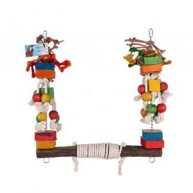 Rope Super Swing Medium Parrot