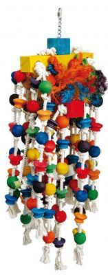 Woody Toy - Large Bird Wood & Rope Toy