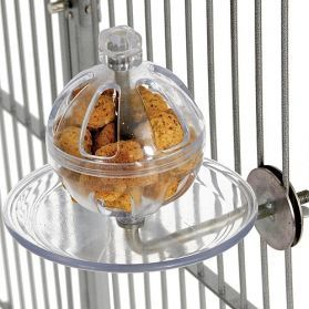 Buffet Ball With Cage Mount Bird Foraging Toy