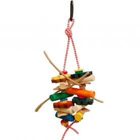 Dou Dou - Soft Wood Bird Toy