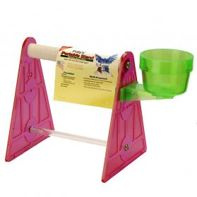 Pollys Portable Bird Stand Small