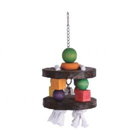 Spin Me Wood Bird Toy