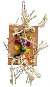 Agabus Medium Leather Parrot Toy