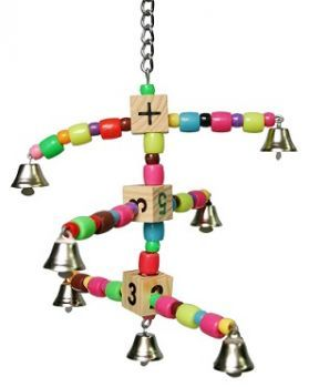 Bell Carousel Small Bird Bead Toy
