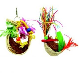 Coco Nest Twin pack Small Bird Toy
