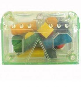 Treasure Chest Acrylic Bird Toy